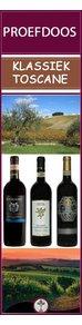 Proef-en Ontdek de wijnen van Klassiek Toscane 3 wijnen en 3x anders