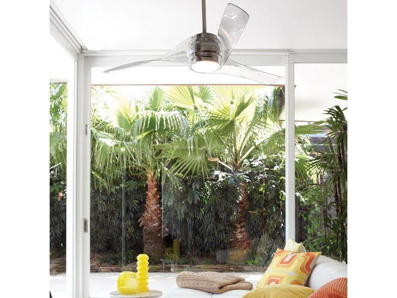 Beacon Artemis Transparent ceiling fan 147 cm with lamp type 210312 ...