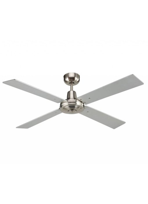 Beacon Airfusion Quest II Brushed Chrome ceiling fan 132 cm type 210337