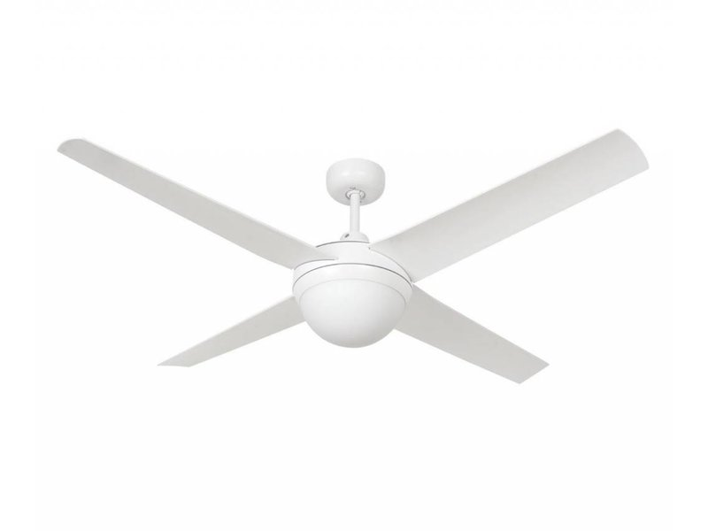 Lucci air Altitude Eco White ceiling fan 132 cm with lamp type 210824