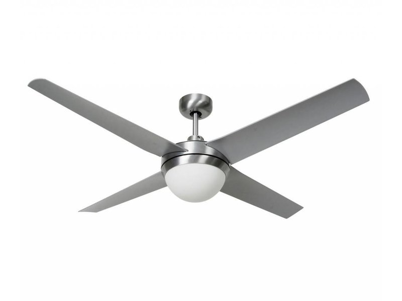 Lucci air Altitude Eco Silver ceiling fan 132 cm with lamp type 210825