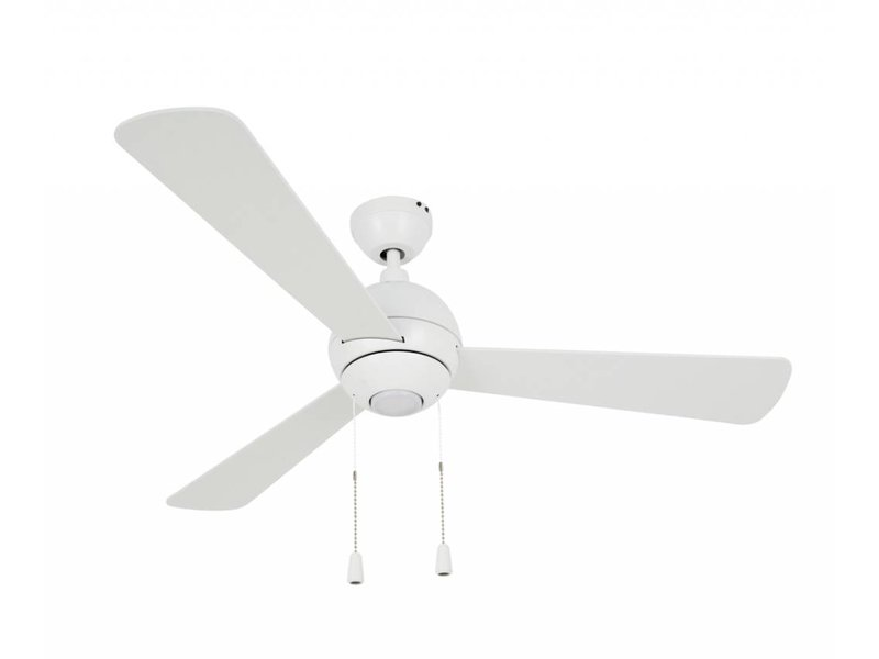 Lucci air Bordono White ceiling fan 122 cm with LED type 210387