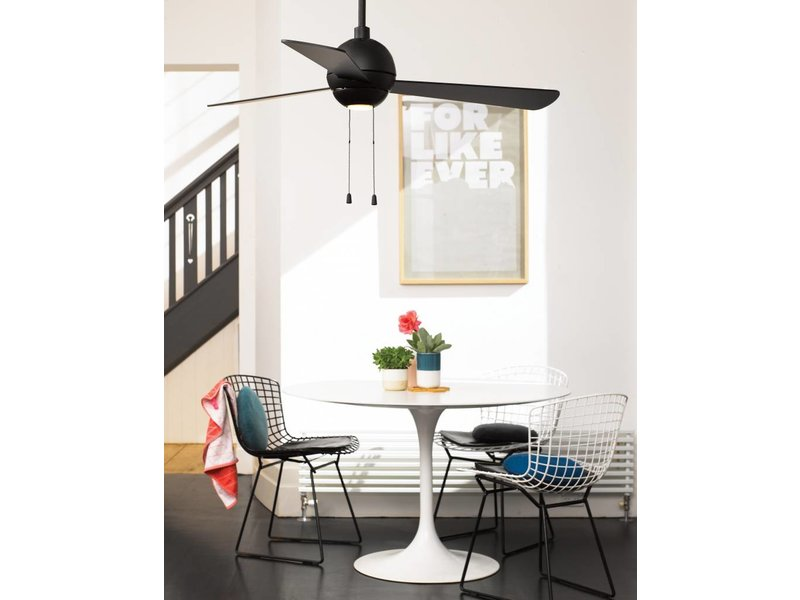 Lucci air Bordono Black ceiling fan 122 cm with LED type 210389