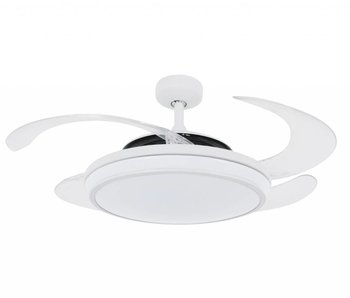 Fanaway EVO1 White ceiling fan 121 cm with LED type 211035