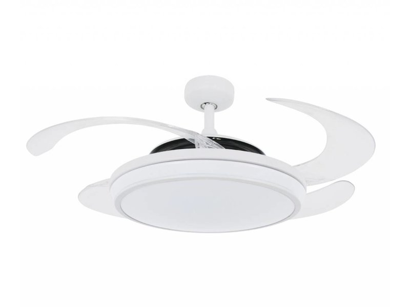 Fanaway EVO1 White ceiling fan 121 cm with lamp type 211035