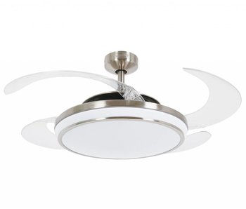 Fanaway EVO1 Brushed Chrome ceiling fan 121 cm with lamp 211036