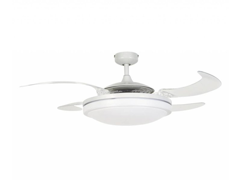 Fanaway evo2 endure white ceiling fan 121 cm with lamp type 210930 ventilatorwereld - Fanaway ceiling fan ...