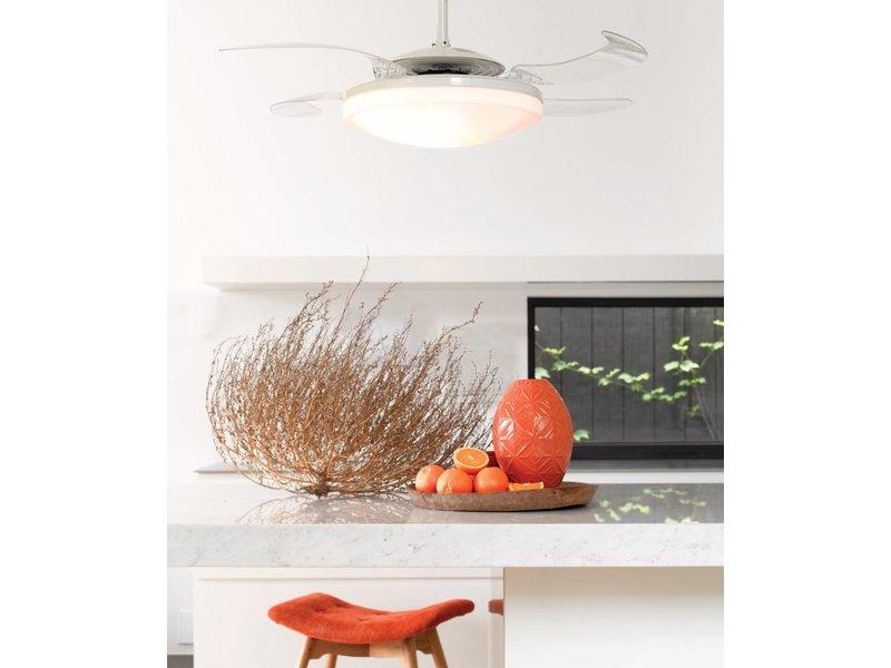 Fanaway EVO2 Endure White ceiling fan 121 cm with lamp type 210930