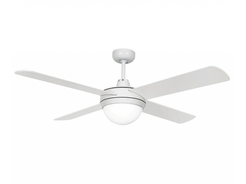 Lucci air futura eco white ceiling fan 122 cm with lamp type 210829 lucci air futura eco white ceiling fan 122 cm with lamp type 210829 aloadofball Images
