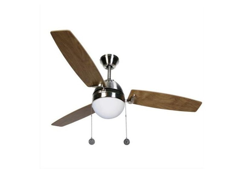 Lucci air Boreas Brushed Chrome ceiling fan 122 cm with lamp type 512105