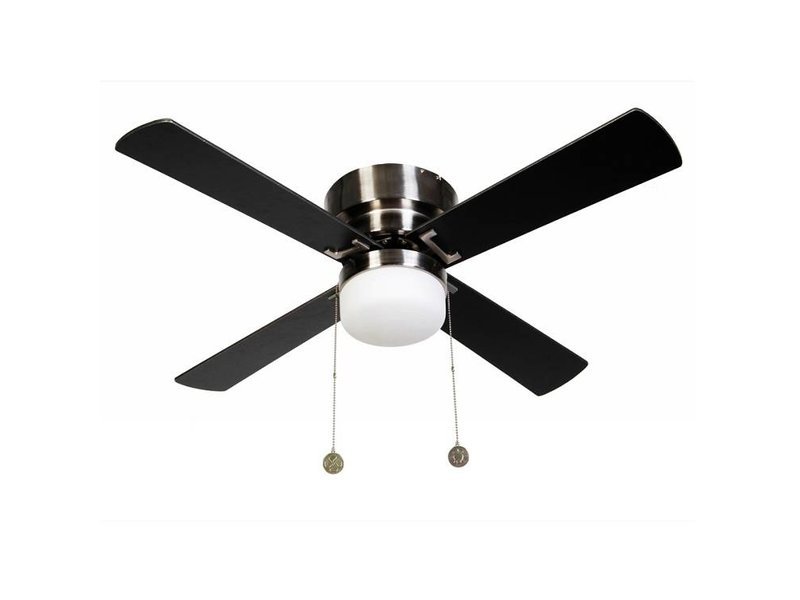 Lucci air Nordic Brushed Chrome ceiling fan 105cm with lamp type 512107