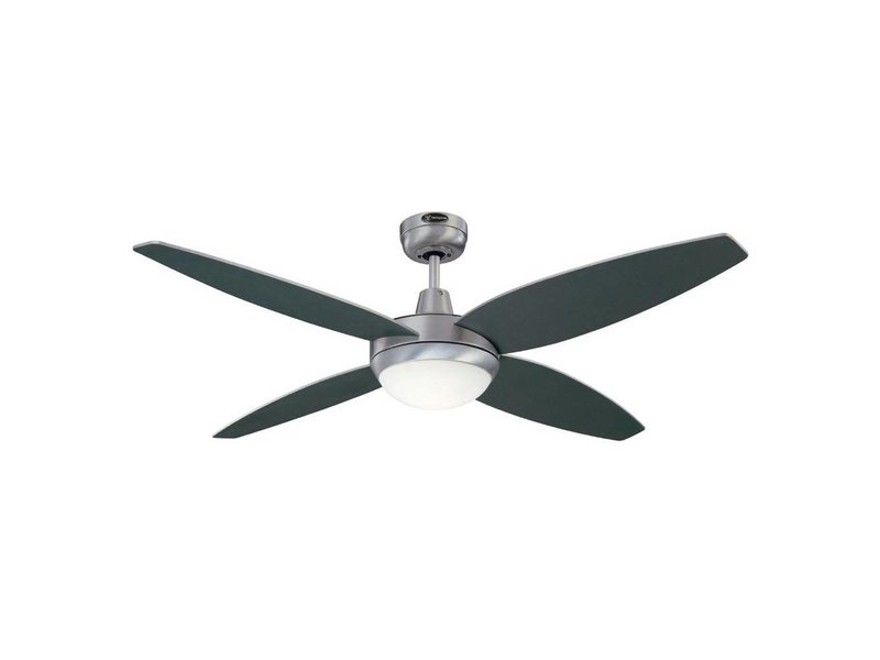 Westinghouse Havanna ceiling fan brushed aluminum 132cm with light type 72546