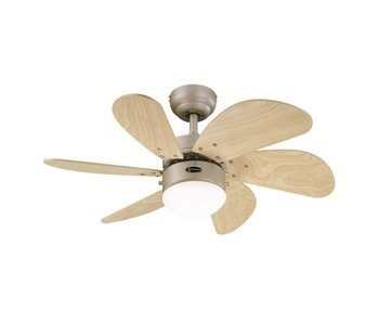 Westinghouse Turbo Swirl ceiling fan titanium type 78158