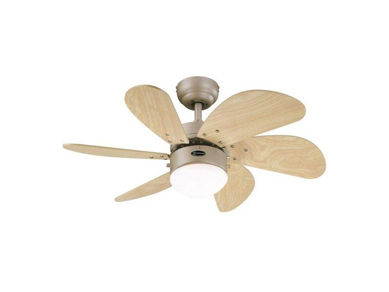 Westinghouse Turbo Swirl ceiling fan titanium type 78158