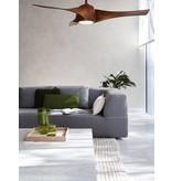 MinkeAire Artemis Dark Koa ceiling fan 147 cm with lamp type 210309
