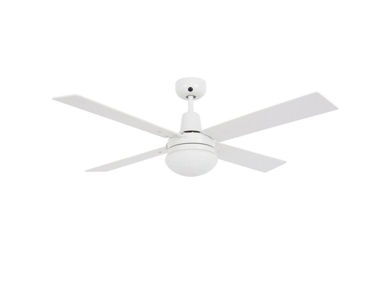 Lucci air Airfusion Quest II White ceiling fan 122 cm with lamp type 210339