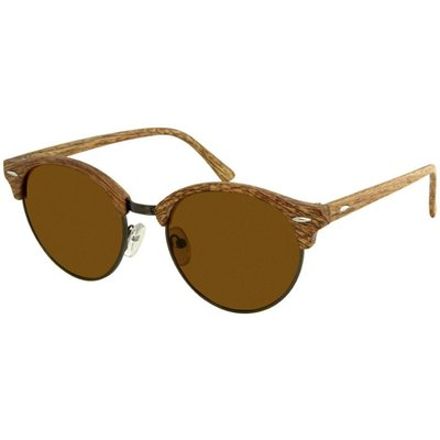 Wooden Look Ronde Clubmaster