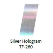 No Label Transfer Foil TF-260 Zilver Holo