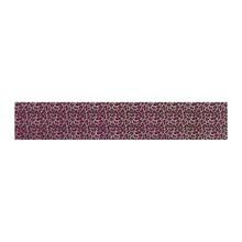 No Label Transfer Foil Leopard Roze