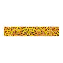 No Label Transfer Foil Leopard geel
