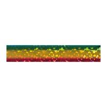 No Label Transfer Foil Diamond Groen/ Geel/ Rood