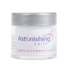 Astonishing Nails Acryl poeder Clear 25gr