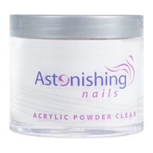 Astonishing Nails Acryl poeder Clear 100gr