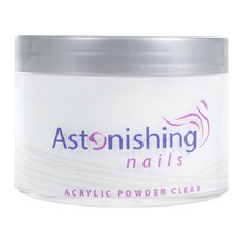 Astonishing Nails Acryl poeder Clear 165gr