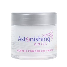 Astonishing Nails Acryl Powder Soft White 25gr