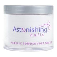 Astonishing Nails Acryl poeder Soft White 100gr