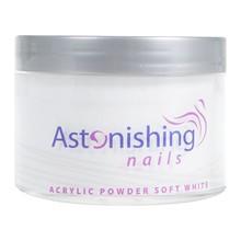 Astonishing Nails Acryl poeder Soft White 165gr
