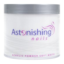 Astonishing Nails Acryl poeder Soft White 250gr
