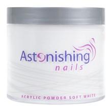 Astonishing Nails Acryl Powder Soft White 250gr