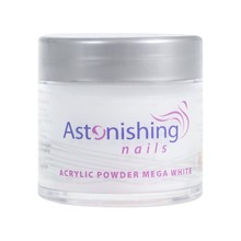 Astonishing Nails Acryl Powder Mega White 25gr