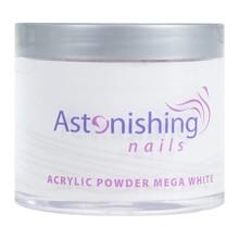 Astonishing Nails Acryl poeder Mega White 100gr