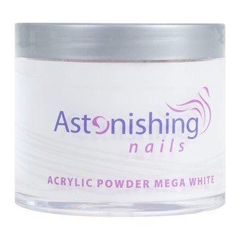 Astonishing Nails Acryl Powder Mega White 100gr