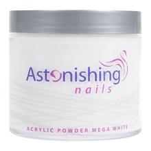Astonishing Nails Acryl Powder Mega White 250gr