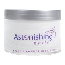 Astonishing Nails Acryl Powder Mega White 165gr