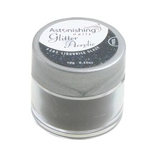 Astonishing Nails Glitter Acryl #202 Liquorice Glaze
