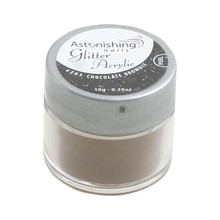 Astonishing Nails Glitter Acrylic #203 Chocolate Brownie