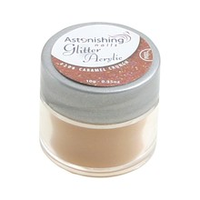 Astonishing Nails Glitter Acrylic #206 Caramel Crunch