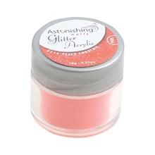 Astonishing Nails Glitter Acrylic #216 Peach Smoothie