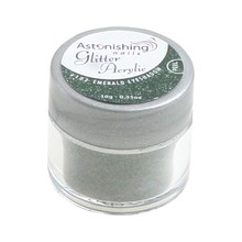 Astonishing Nails Glitter Acryl #102 Emerald Eyeshadow