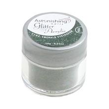 Astonishing Nails Glitter Acryl #102 Emerald Eyeshadow