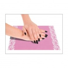 No Label Anti-Slip Table Mat Pink