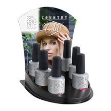 Astonishing Nails Gelosophy Country Chic Winter Collection Display (12 pcs in 6 pcs display)