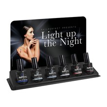 Nail Perfect Light Up the Night Soak Off Gel Polish Display (12 pcs in 6 pcs display)
