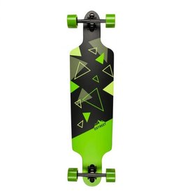 D-STREET D-STREET LONGBOARD DROP THROUGH POLYGON HEX 37.5""