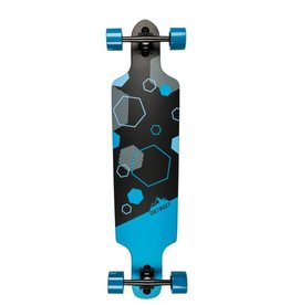 D-STREET D-STREET LONGBOARD DROP THROUGH POLYGON TRI 39""