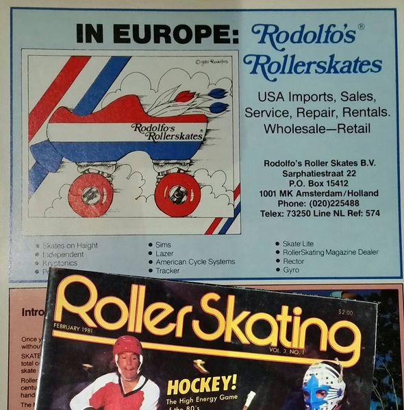 ROLLERSKATING AD 1981
